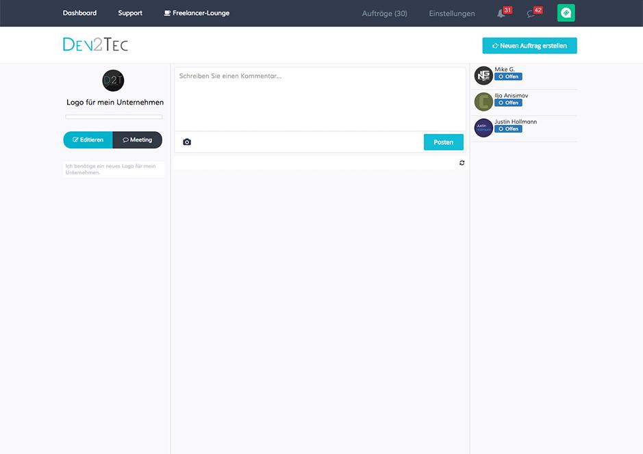 Screenshot-1 von Dev2Tec.com
