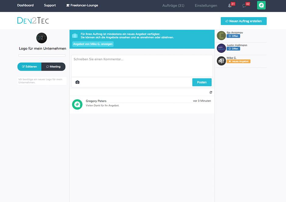 Screenshot-3 von Dev2Tec.com
